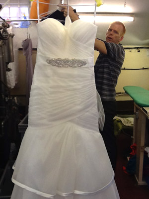 Wedding Dress Cleaning Services Capricorn Dry Cleaners Longfield
